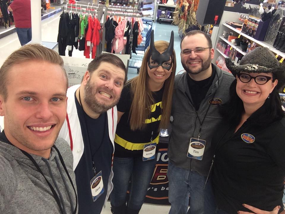 BNQ Staff at Meijer Trick-or-Treat